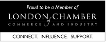 Proud to be members of London Chamber of Commerce