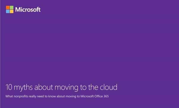 10 Myths On Moving To The Cloud