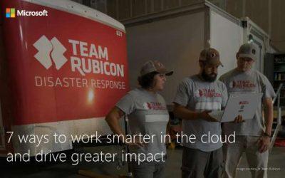7 ways to work smarter in the cloud