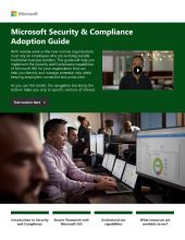 Microsoft Security & Compliance Adoption Guide