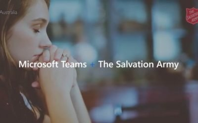 Microsoft Fireside Chat | The Salvation Army stays connected during COVID-19